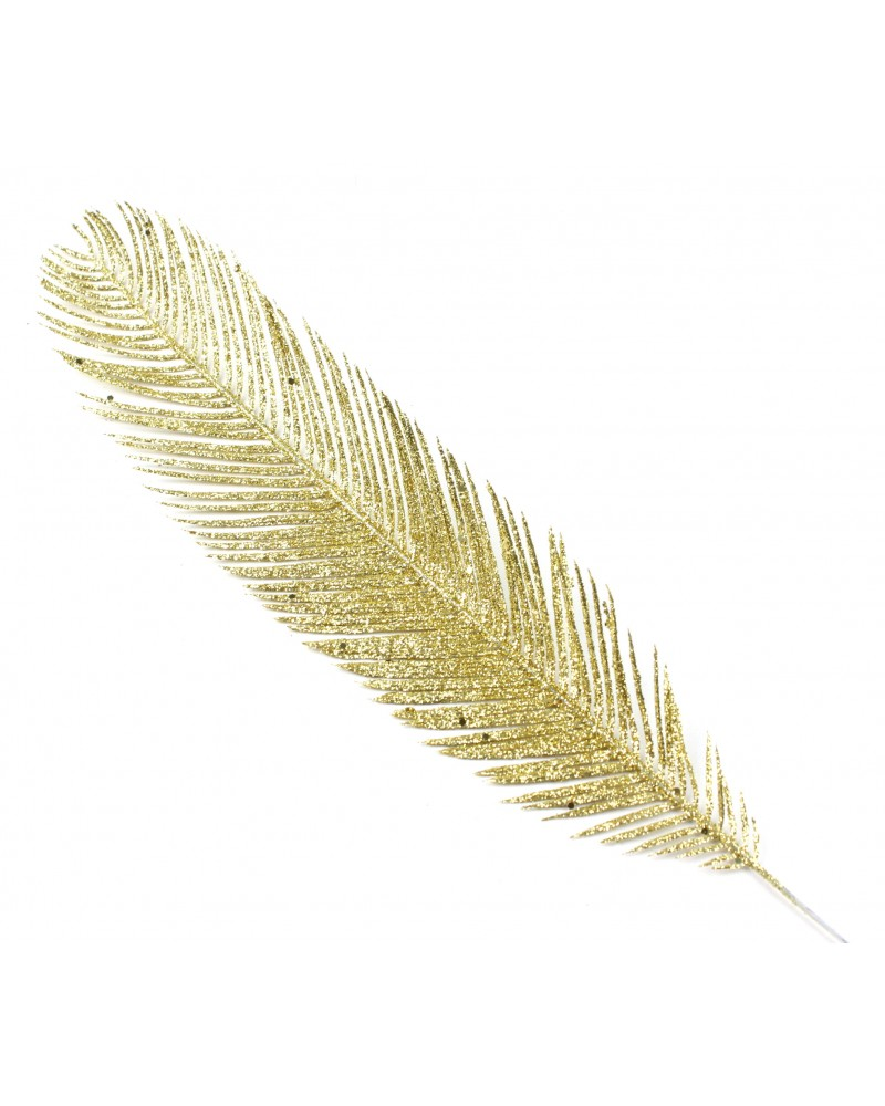 Gałązka Brokatowa Piórko Złote