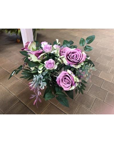 Kompozycja kwiatowa Purple Flowers