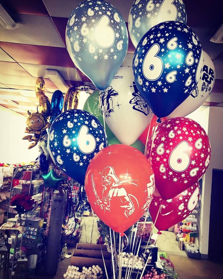 balony urodziny hel