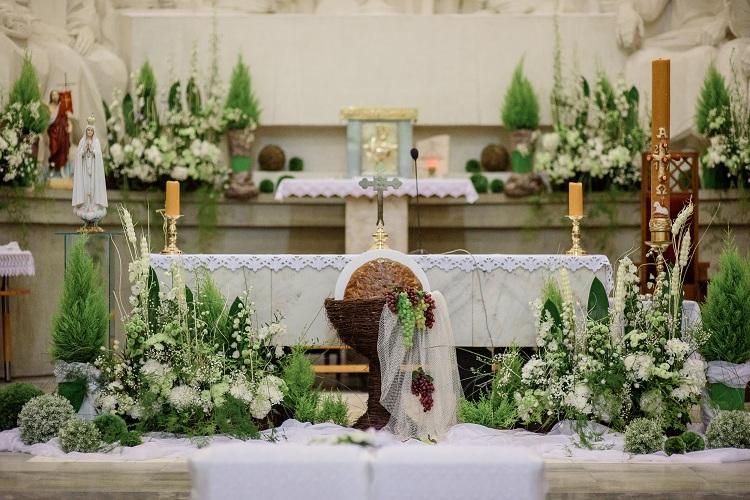 Dekoracja Kościoła Na ślub Wystrój Kościoła Z Happenings
