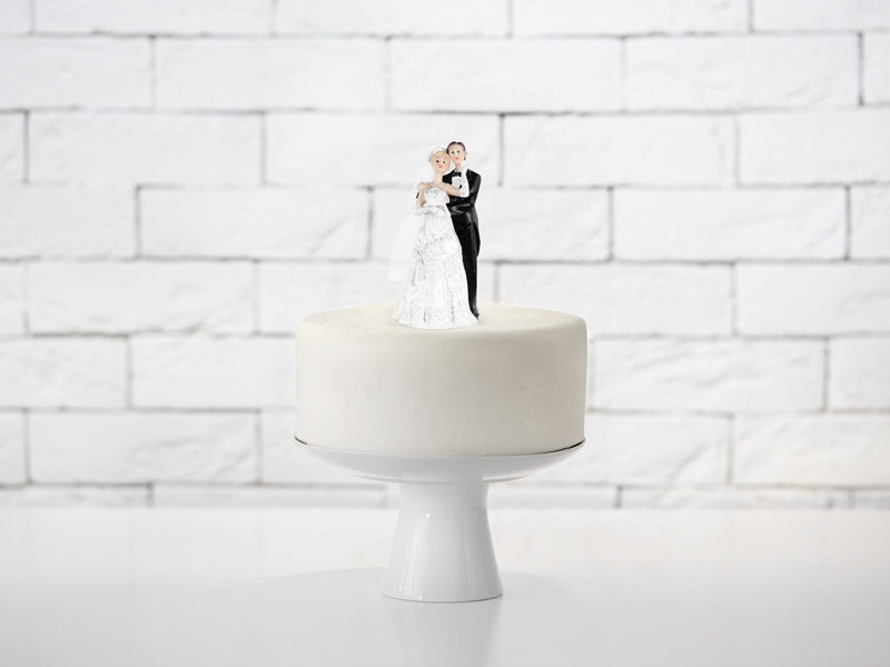 figurki ślubne na tort