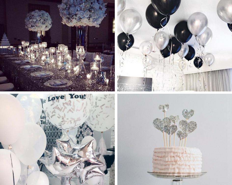 Srebrne dodatki na wesele