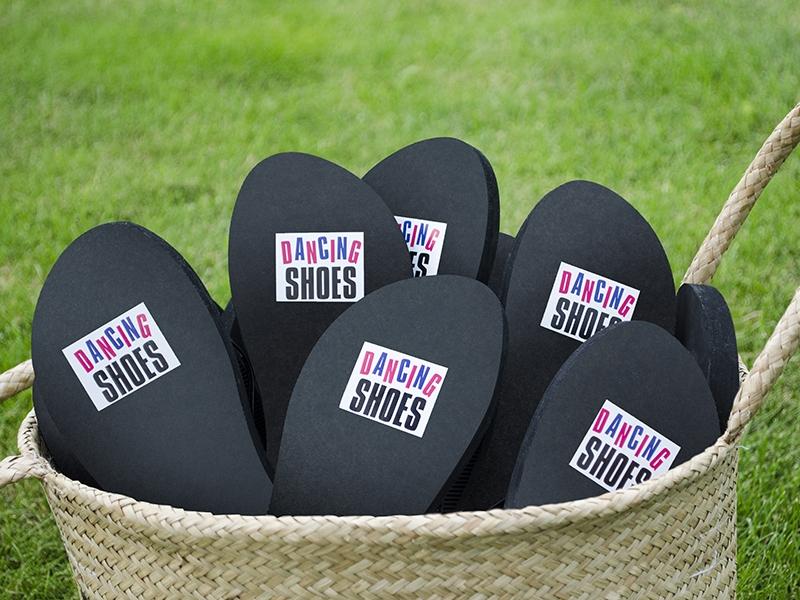 naklejki pod buty ślubne